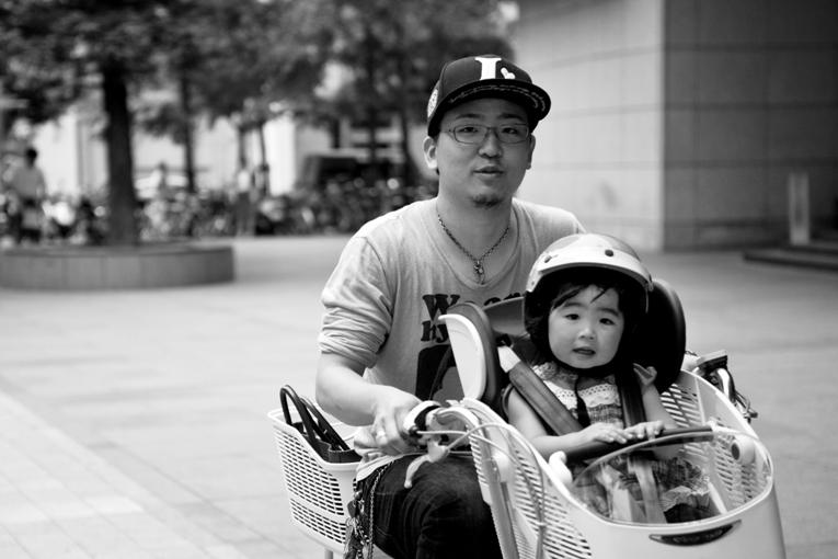 Kobe, Kyomachi | Quality time with Dad